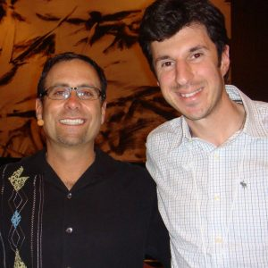 Angelo Labrou with Alex Mandossian