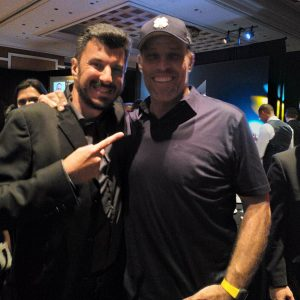 Angelo Labrou with Tony Robbins